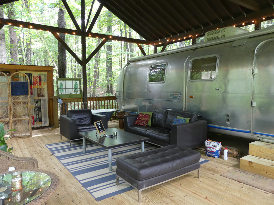 airstream on deck
