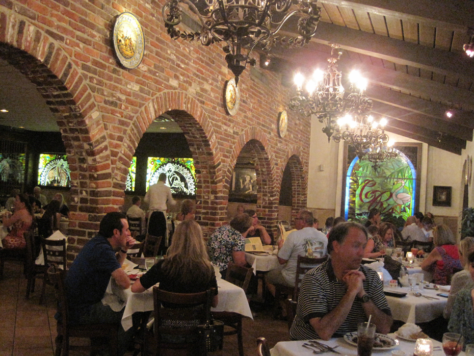 Diners at Colombia Restaurant in St. Augustine