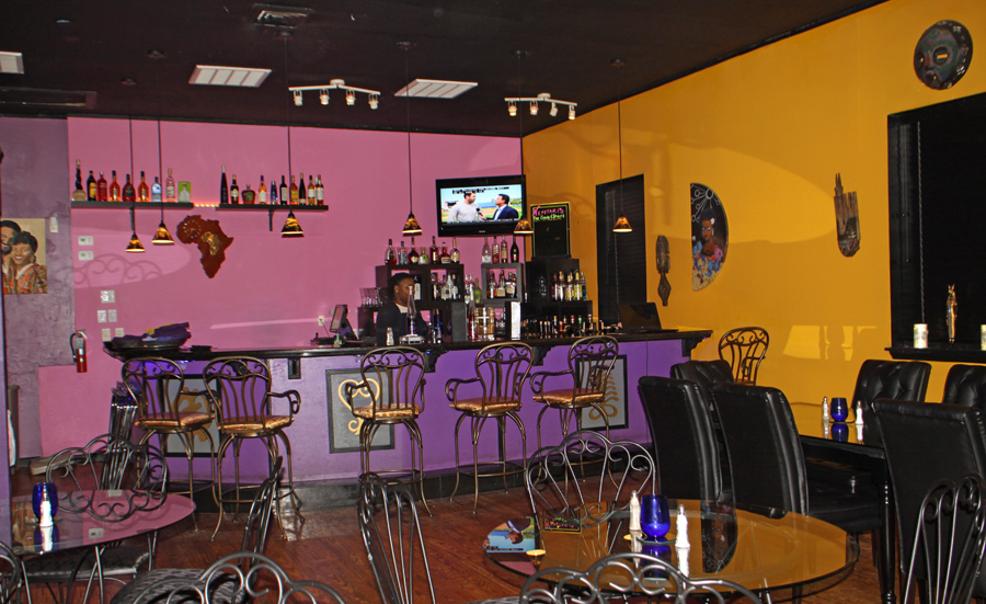 bar at Nefetari's Fine Cuisine & Spirits in Tallahassee