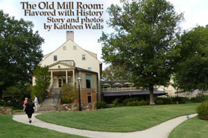 Rear view of Old Mill Room