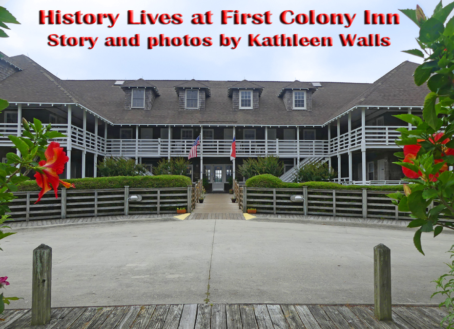 front view of First Colony Inn