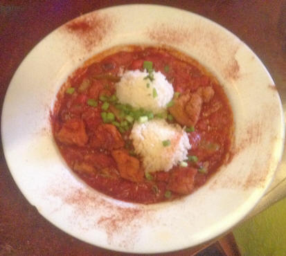 gumbo at Zydeco's Restaurant in Mooresville, IN