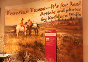 Exhibit in Frontier Texas in Abilene used as Header photo