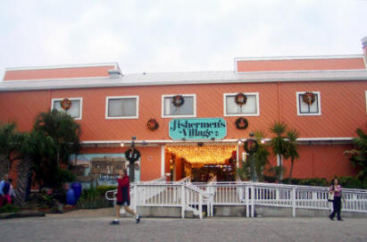 Entrance to Fishermen's Village in Punta Gorda, Florida