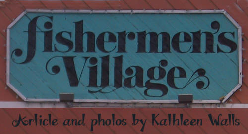 Sign over Fishermen's Village Mall