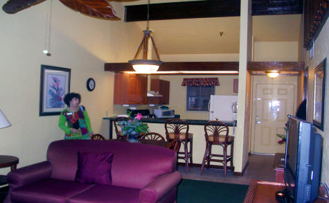 Living area of the Villas at Fishermen's Village