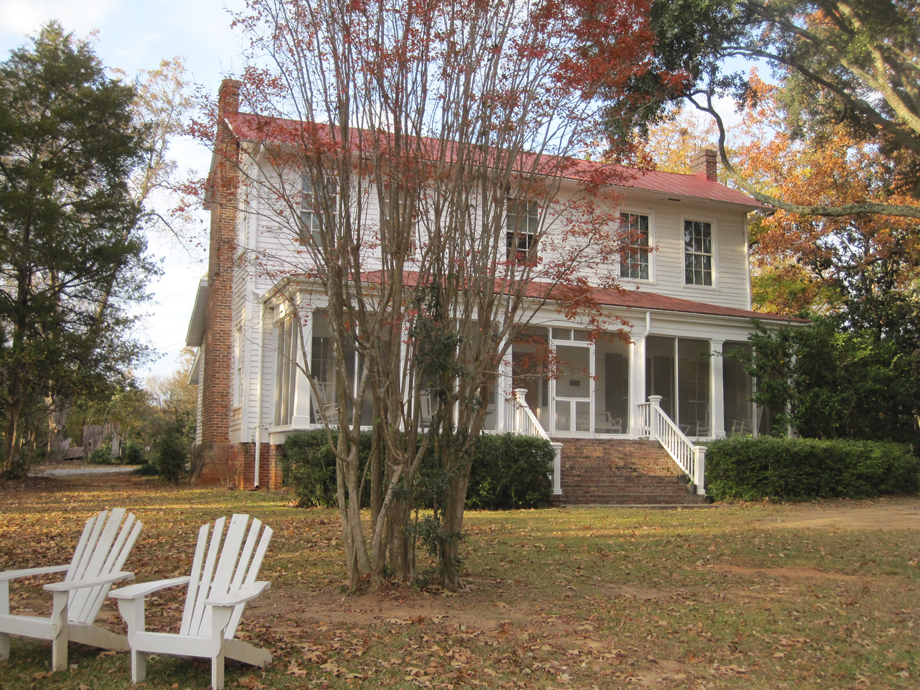 Andalusia, author Flannery O'Connor's farm in Millidgeville, GA
