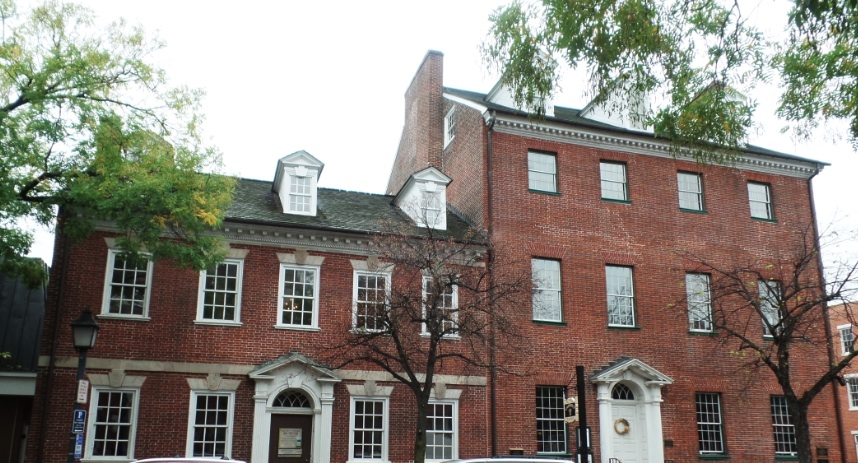 Gadsby's Tavern  at Alexandria, Virginia