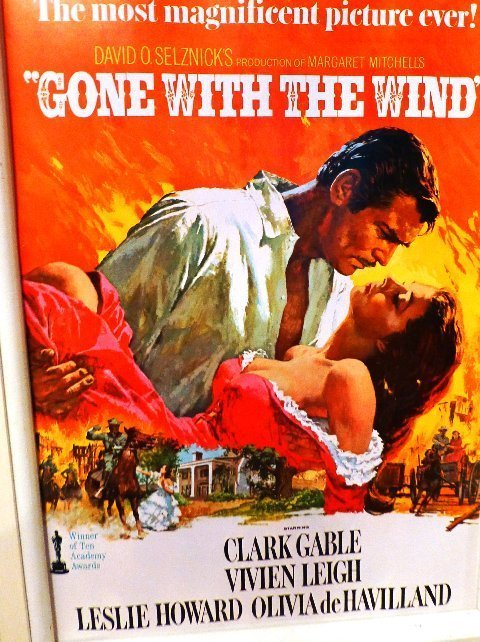 Gone wiht the Wind poster