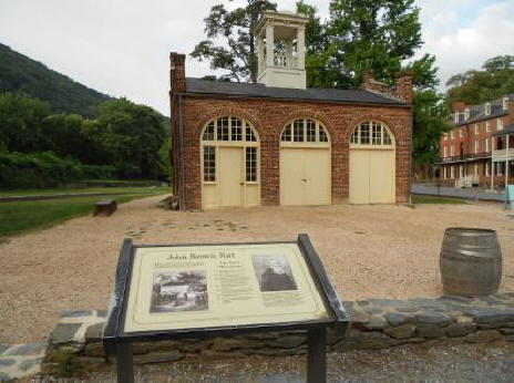 John Brown's Fort at Harpers Ferry, West Virginia