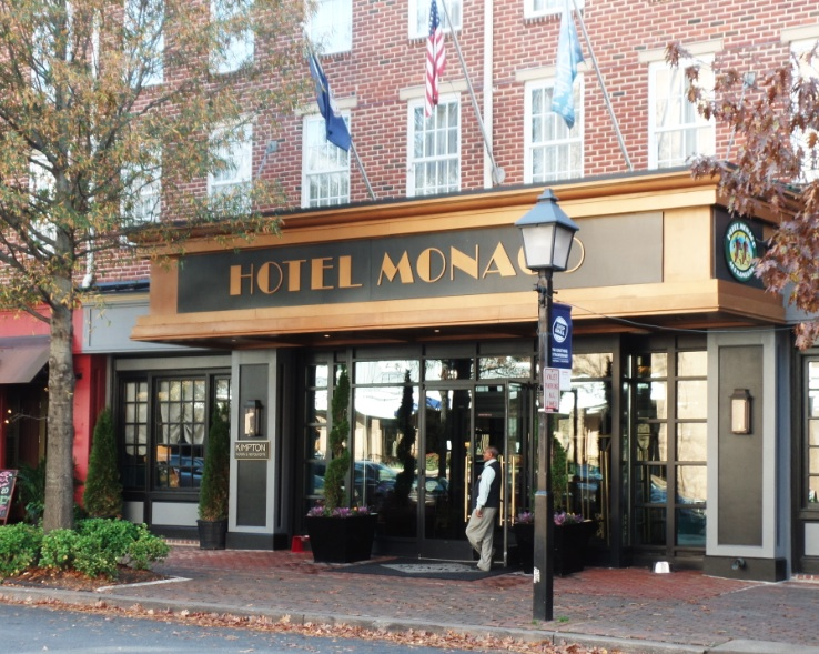 Hotel Monoco  at Alexandria, Virginia