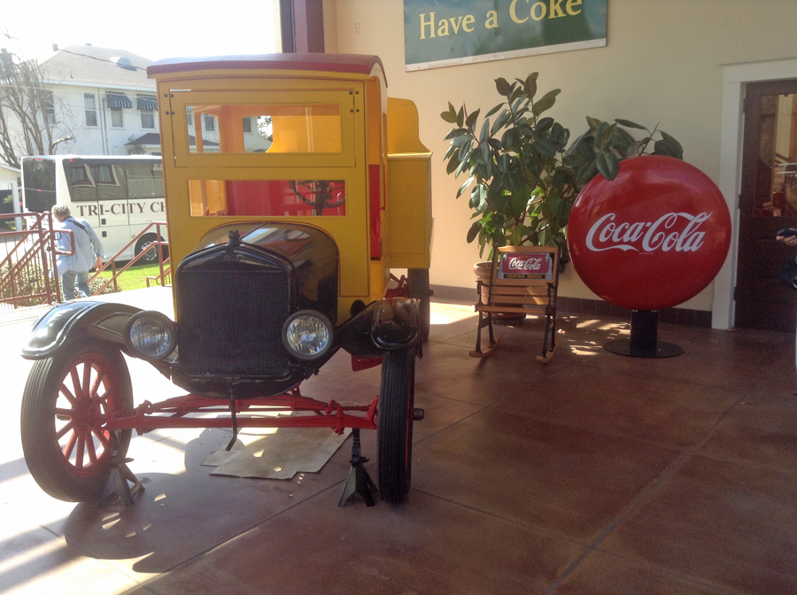 First Coke delivery truck at Biedenharn Museum and Gardens  In Monroe, Louisiana