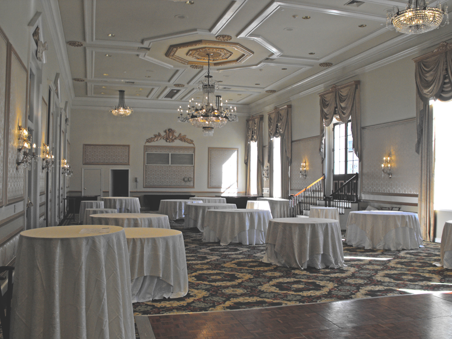 Orleans Ballroom at Bourbon Orleans in French Quarter of New Orleans