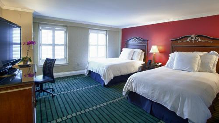 rooms at  Bourbon Orleans in French Quarter of New Orleans
