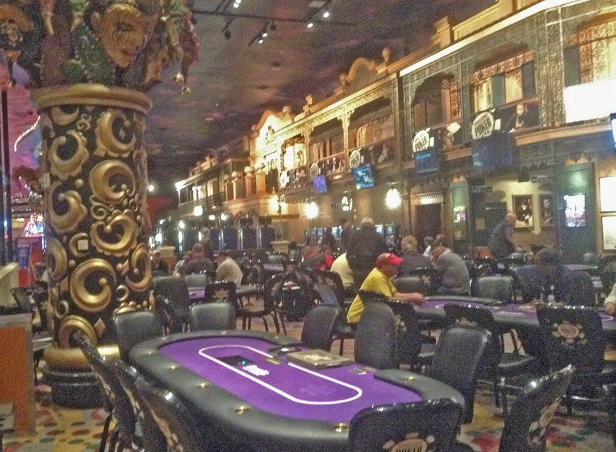 casino tables in Louisiana