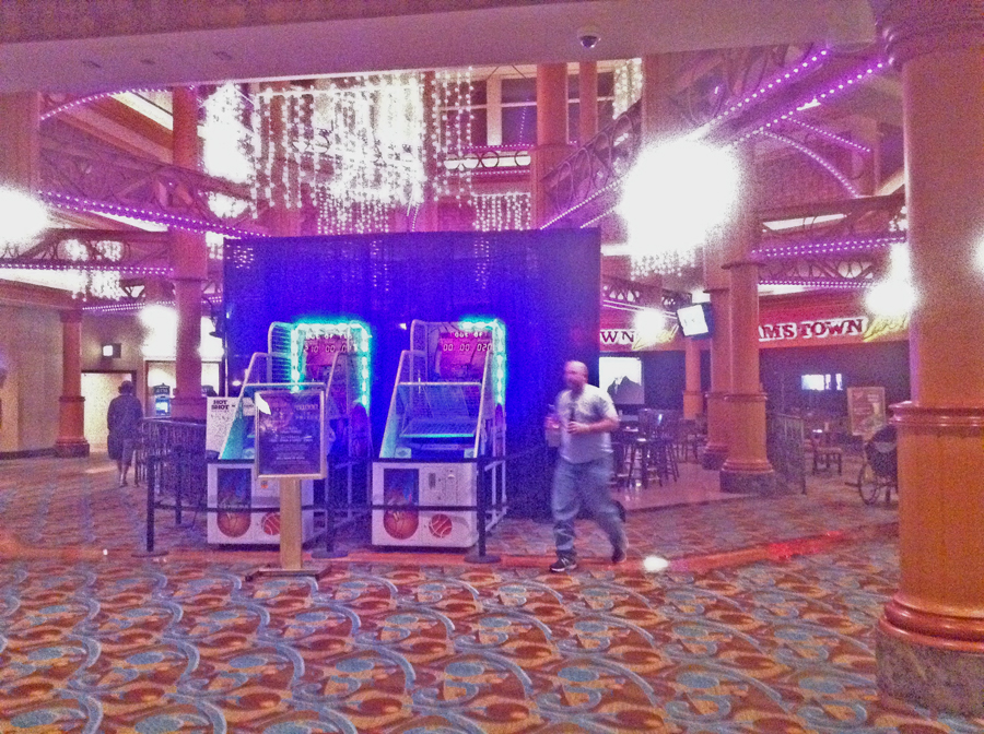 Lobby Sam's Town Casino in Shreveport