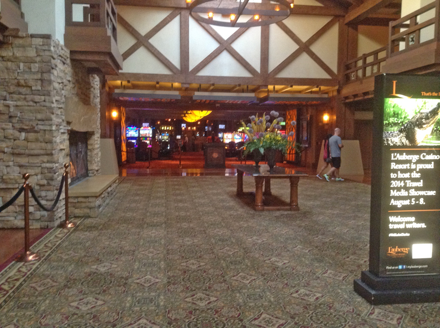lobby L'auberge Casino in Lake Charles