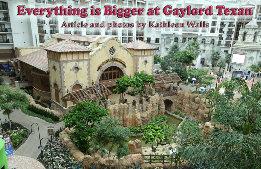 Innroads Everything Is Bigger At Gaylord Texan