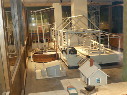 Exhibit of modern mining methods at Joplin's Mineral and History Museum