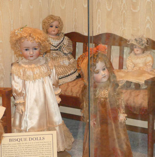 Doll exhibit  at Joplin's Mineral and History Museum