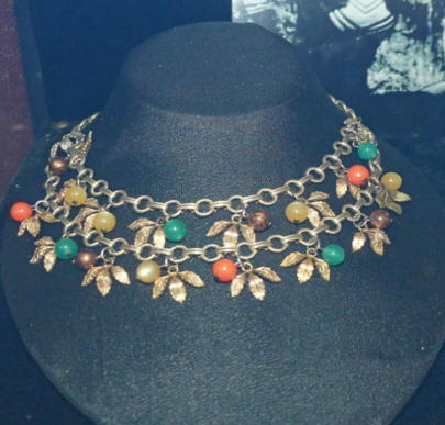 Bonny's jewelry at Joplin's Mineral and History Museum