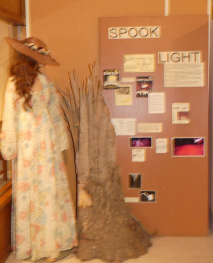 Doll exhibit  and Spook light at Joplin's Mineral and History Museum