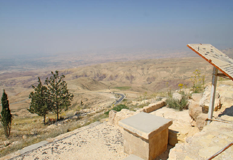 View from Mt. Nebo in Jordan