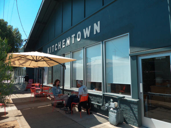 Exterior of Kitchentown