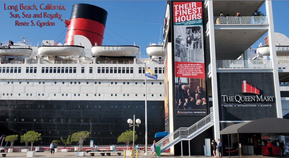 The Queen Mary at dock