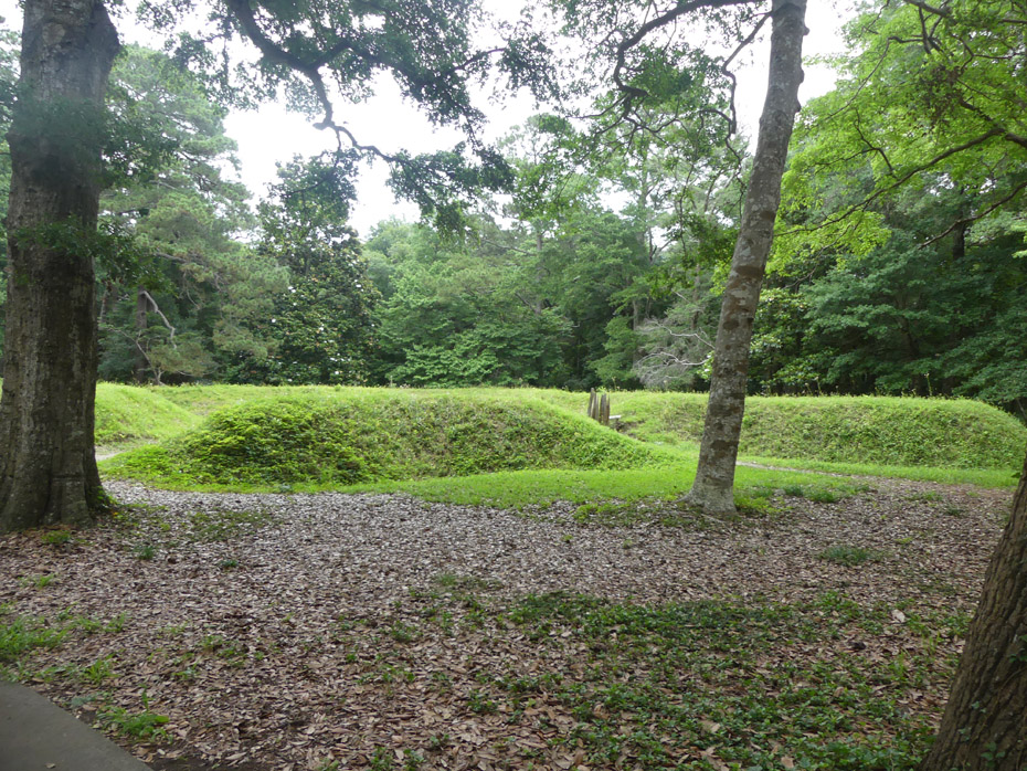 Earthworks at Fort Raleigh