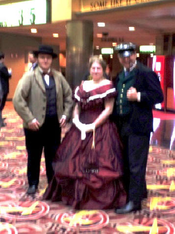 two characters playing in Mercy Street filimed at Alexandria, Virgini