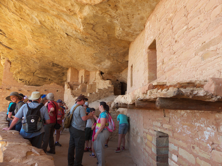 Balcony House  at Mesa Verde National Park