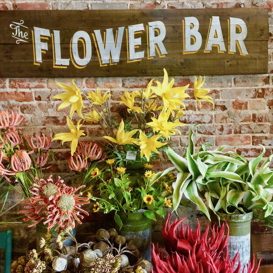 flower bar in Valdosta GA