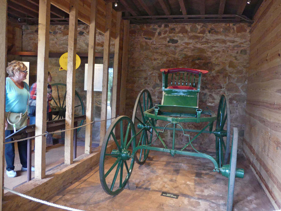 Green Buggy at Monticello