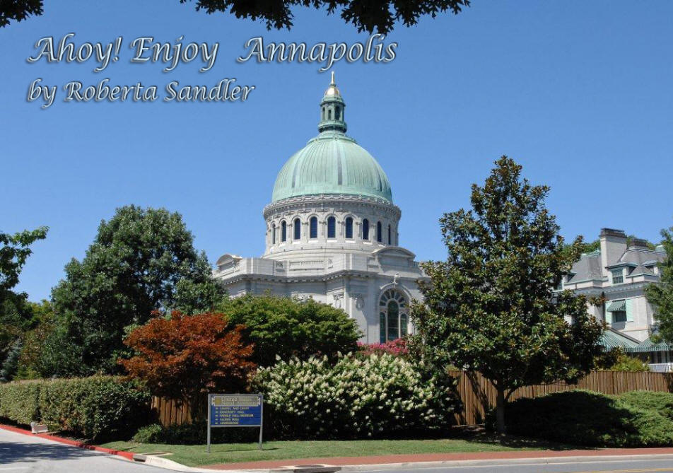 Naval Academy Chapel in Anapolis, ML