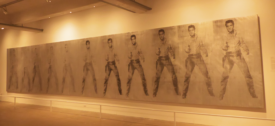 11 elvises at Andy Warhol Museum