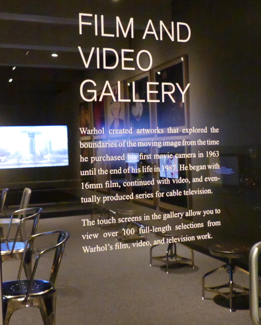Film and Video Gallery at Andy Warhol Museum