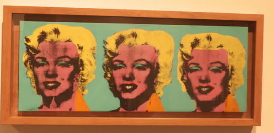 Marilyn Monroe pictures at Andy Warhol Museum