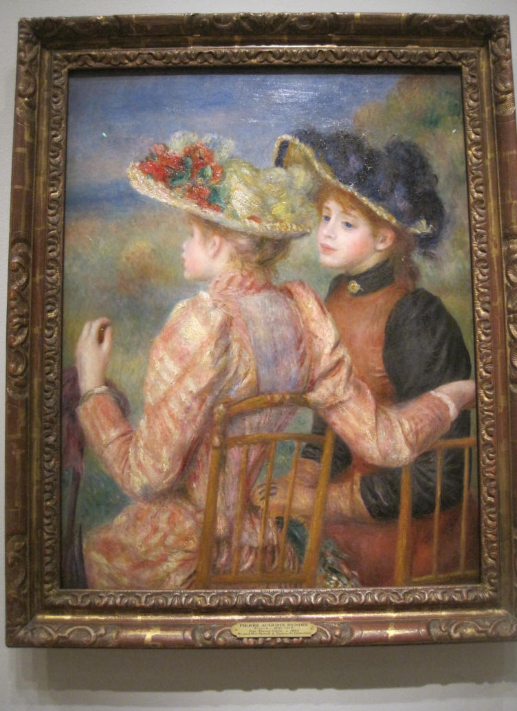 Two Girls by Auguste Renoir