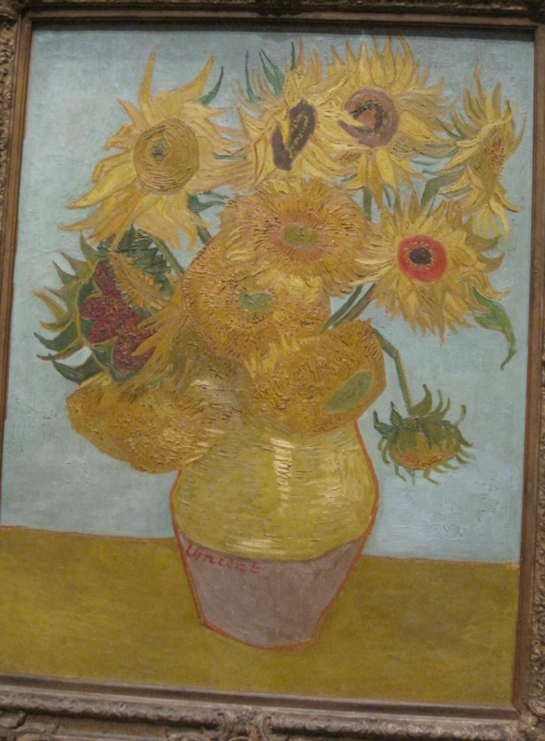 .Sunflowers by Vincent Van Gogh