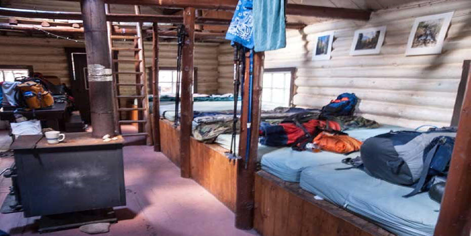 lodging in Barr Cabin