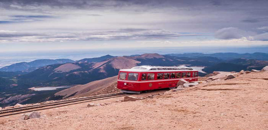 Cog Railway to Pikes Peak