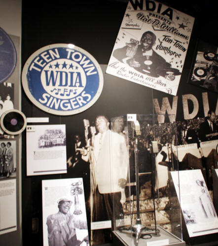 Black Soul musicians display at Rock and Soul Museum