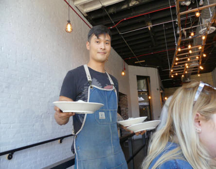 chef at  Smallman Galley