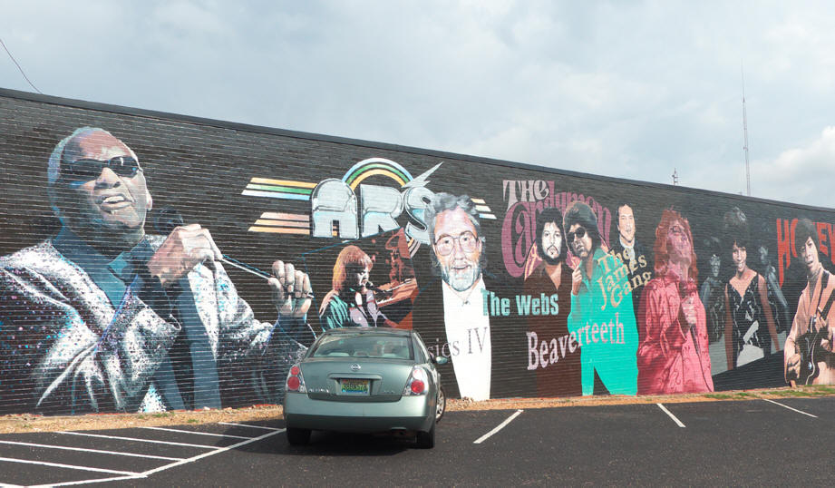 Dothan mural Contemporary musicians of the wiregrass