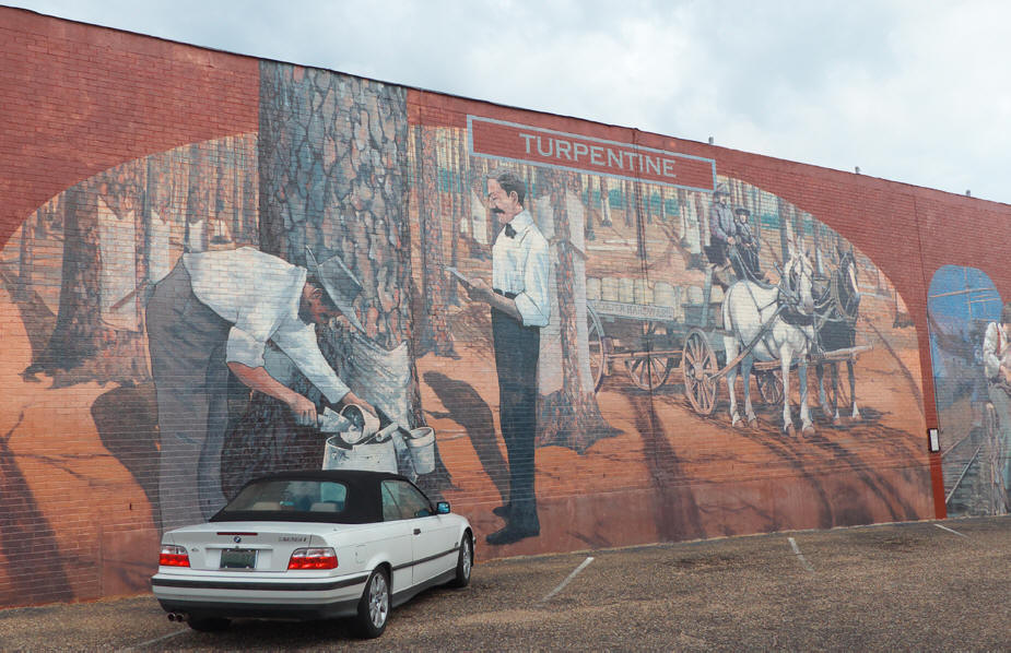 Dothan mural Turpentine