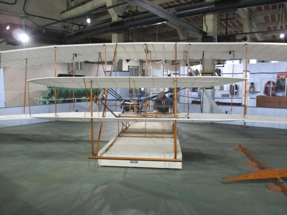 model of wright bros plane