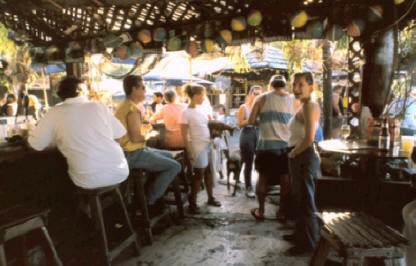 People at Schooner Wharf in Key West Florida