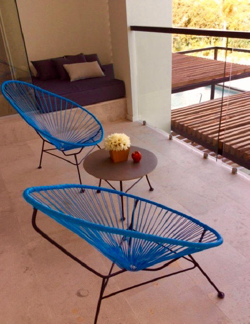 chairs and sofa at Finest Resort in Playa Mujeres