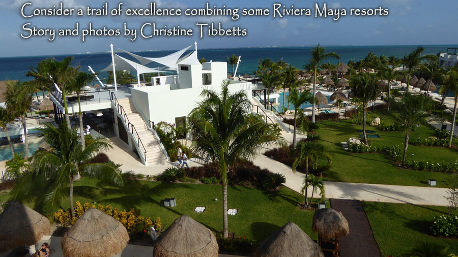 view of the Rievera Resorts in Cancun